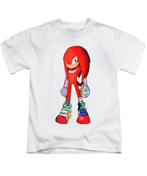 Knuckles Sketch Kids T-Shirt