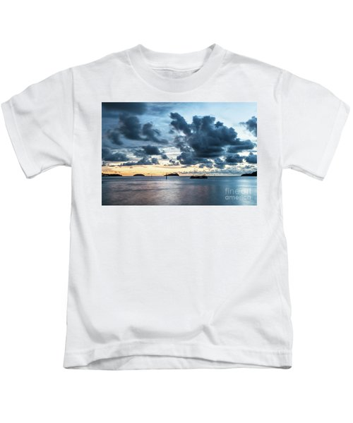 Kota Kinabalu Sunset Kids T-Shirt