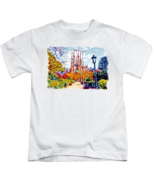 La Sagrada Familia - Park View Kids T-Shirt