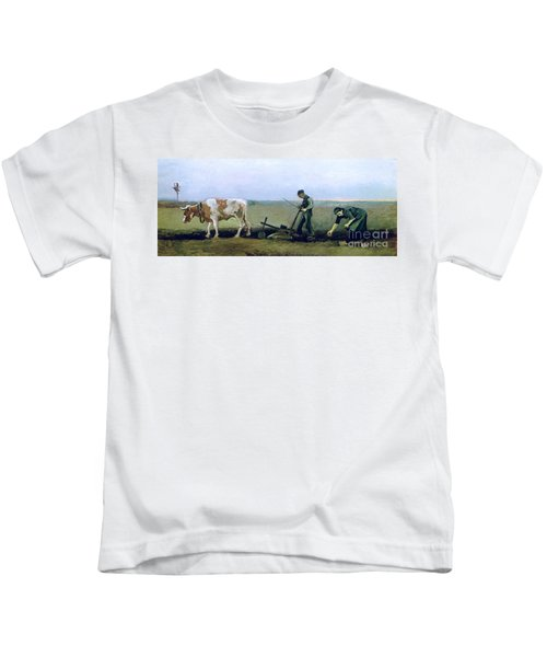 Labourer And Peasant  Kids T-Shirt