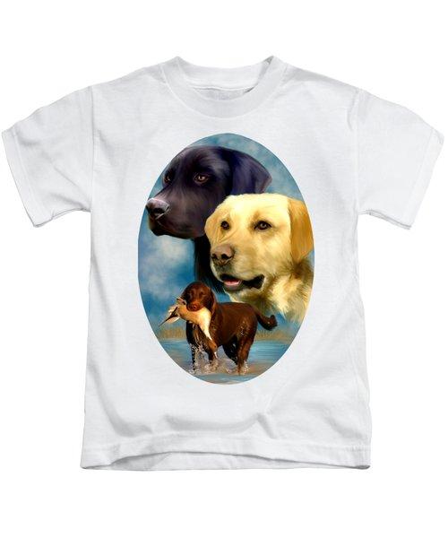 Labrador Retrievers Kids T-Shirt
