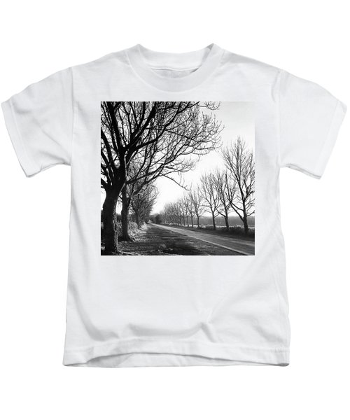 Lady Anne's Drive, Holkham Kids T-Shirt