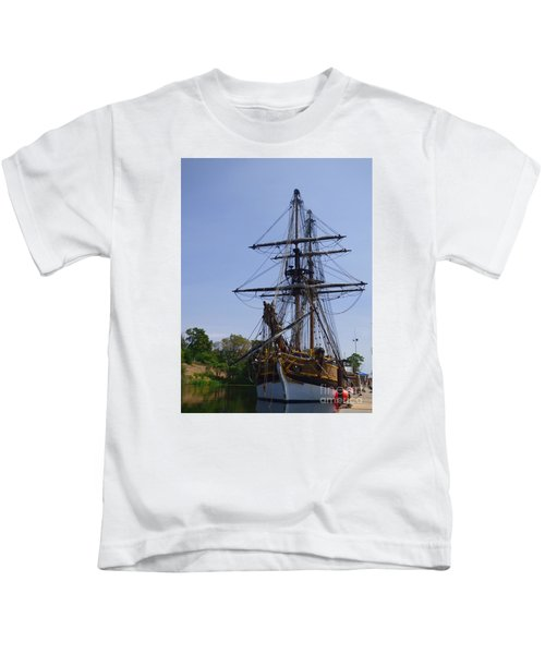 Lady Washington Kids T-Shirt