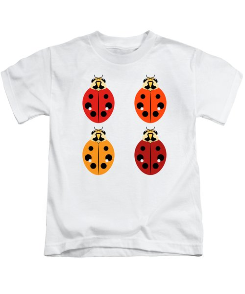 Ladybug Quartet Kids T-Shirt