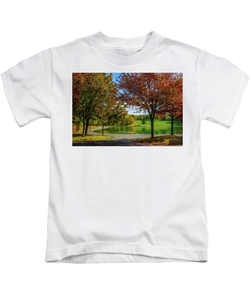 Lagoon Park In Montreal Kids T-Shirt
