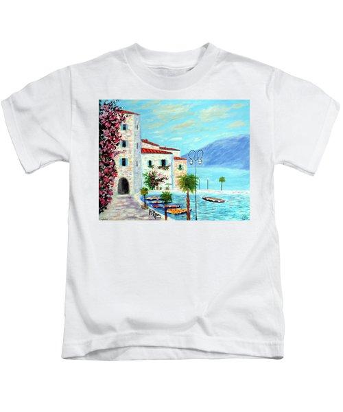 Lake Garda Bliss Kids T-Shirt