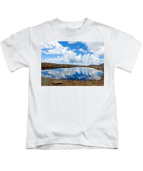 Lake Of The Sky Kids T-Shirt