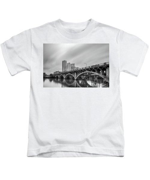 Lamar Bridge In Austin, Texas Kids T-Shirt