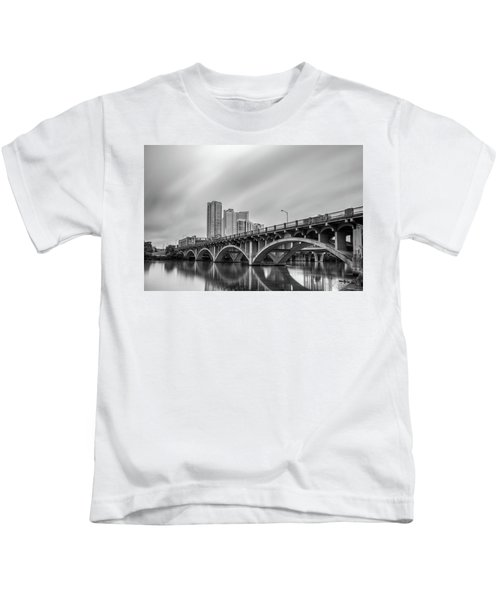 Lamar Bridge In Austin, Texas Kids T-Shirt