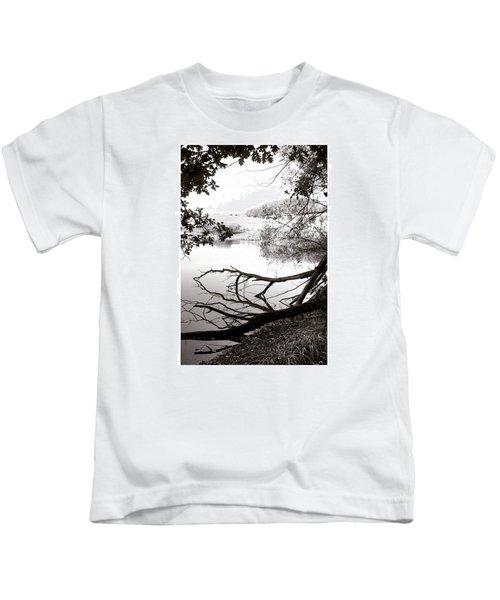 #landscape #lake  #mothernature Kids T-Shirt