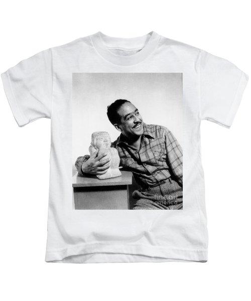 Langston Hughes (1902-1967) Kids T-Shirt