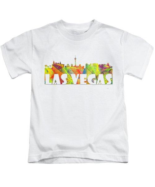 Las Vegas Skyline Kids T-Shirt