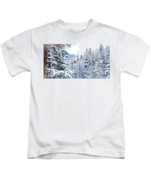 Last Cabin Standing- Kids T-Shirt