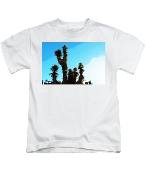 Late Afternoon Cactus Kids T-Shirt