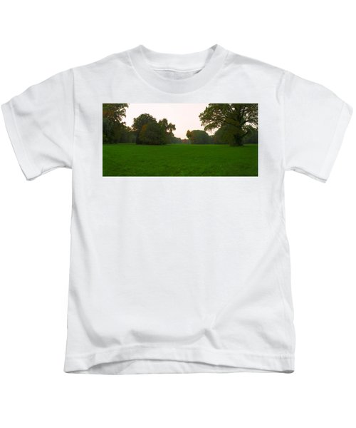 Late Afternoon In The Park Kids T-Shirt