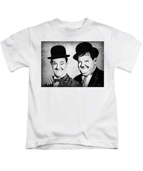 Laurel And Hardy My Pal Kids T-Shirt