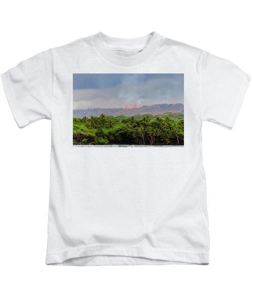 Lava Fountain Kids T-Shirt