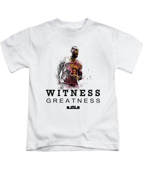 Lbj1 Kids T-Shirt
