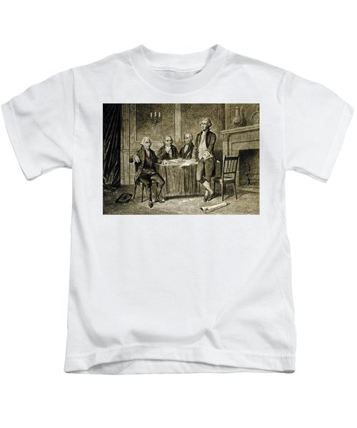 Leaders Of The First Continental Congress Kids T-Shirt