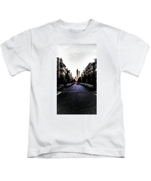 Leading Lines Kids T-Shirt