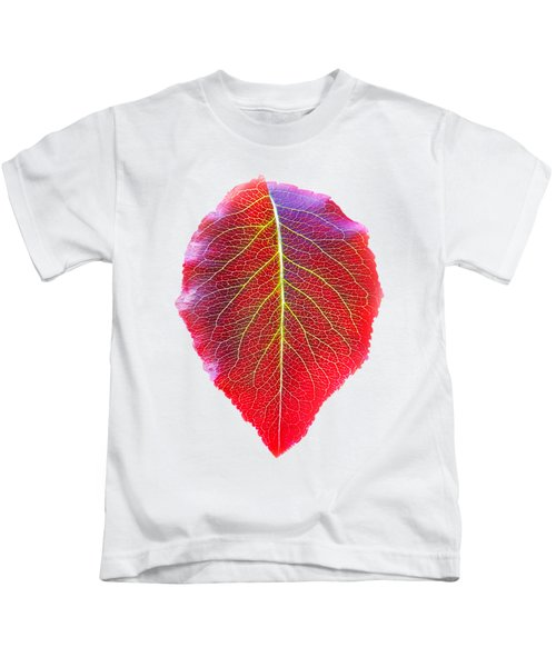 Leaf Of Autumn Kids T-Shirt