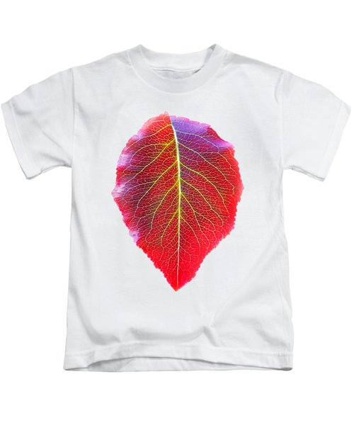 Leaf Of Autumn Kids T-Shirt