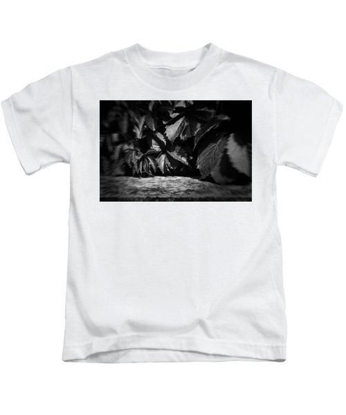 Leaves #9671 Kids T-Shirt
