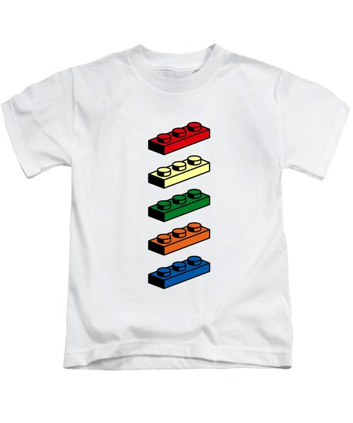 Kids T-Shirt featuring the photograph Lego T-shirt Pop Art by Edward Fielding