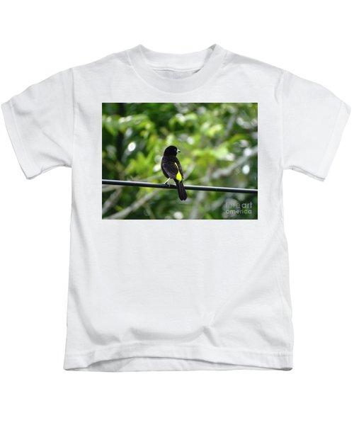 Lemon-rumped Tanager Kids T-Shirt