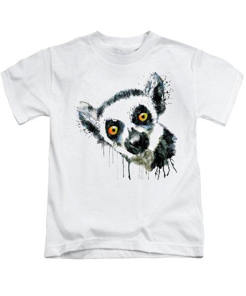 Lemur Head  Kids T-Shirt