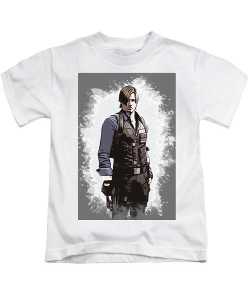 Leon S. Kennedy Kids T-Shirt