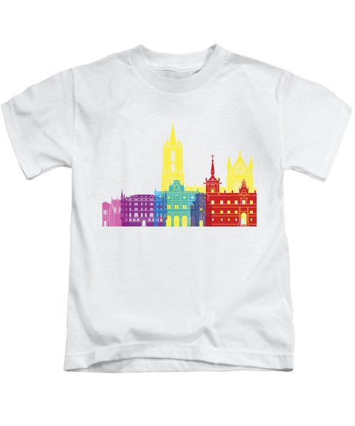 Leon Skyline Pop Kids T-Shirt