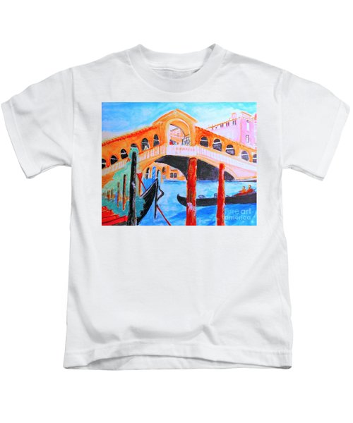 Leonardo Festival Of Venice Kids T-Shirt