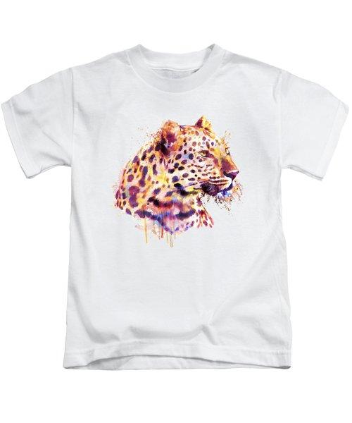 Leopard Head Kids T-Shirt