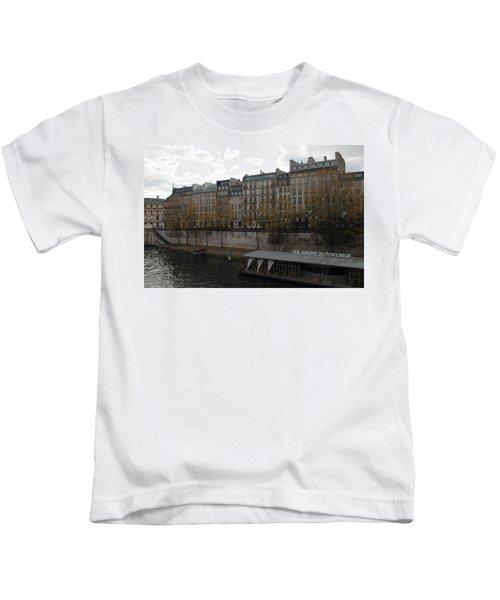 Les Jardins Du Pont Neuf Kids T-Shirt