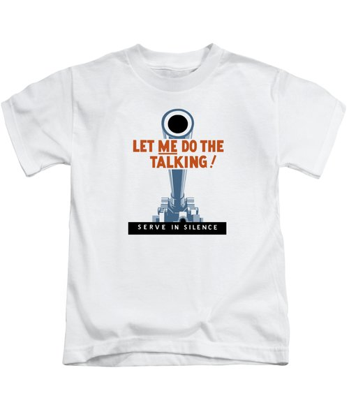 Let Me Do The Talking Kids T-Shirt