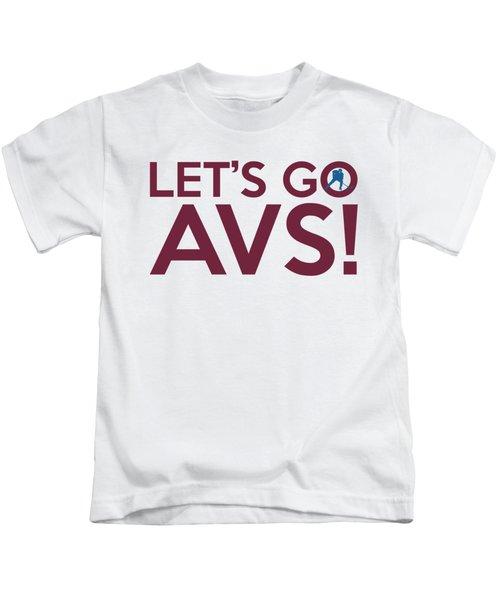 Let's Go Avs Kids T-Shirt