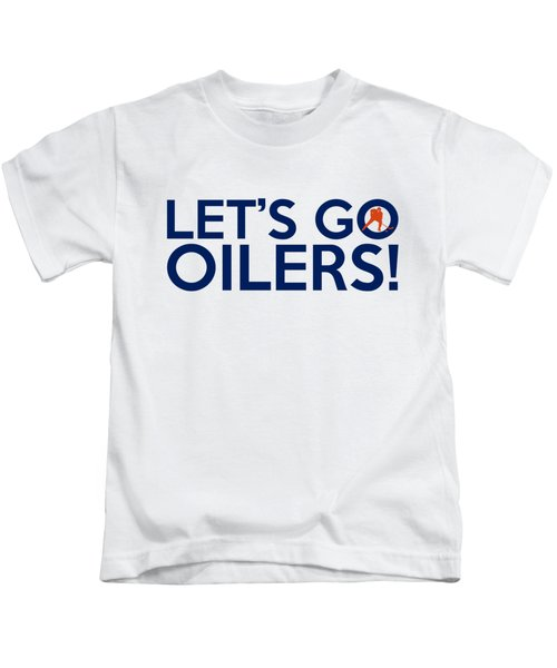 Let's Go Oilers Kids T-Shirt