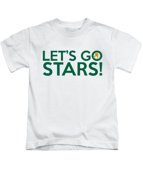 Let's Go Stars Kids T-Shirt by Florian Rodarte