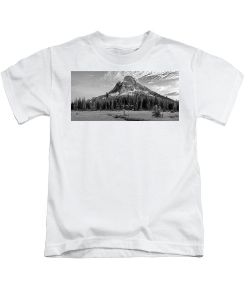 Liberty Mountain At Sunset Kids T-Shirt