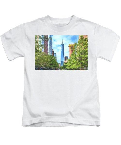 Liberty Tower Kids T-Shirt