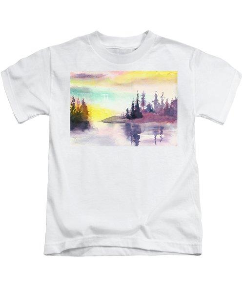Light N River Kids T-Shirt