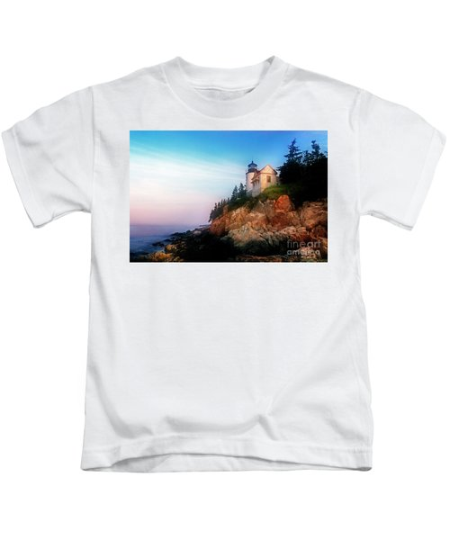 Lighthouse Sunrise Kids T-Shirt