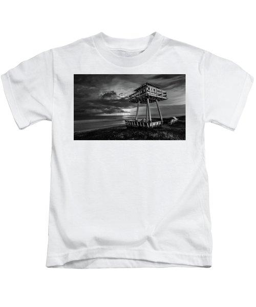 Lightning Watch Tower Kids T-Shirt