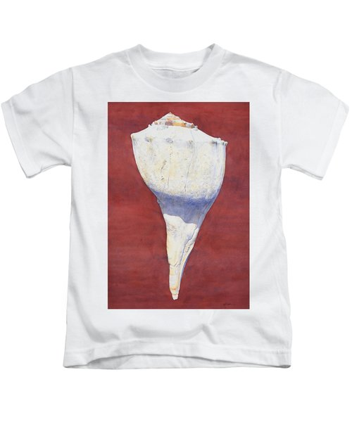 Lightning Whelk Conch II Kids T-Shirt