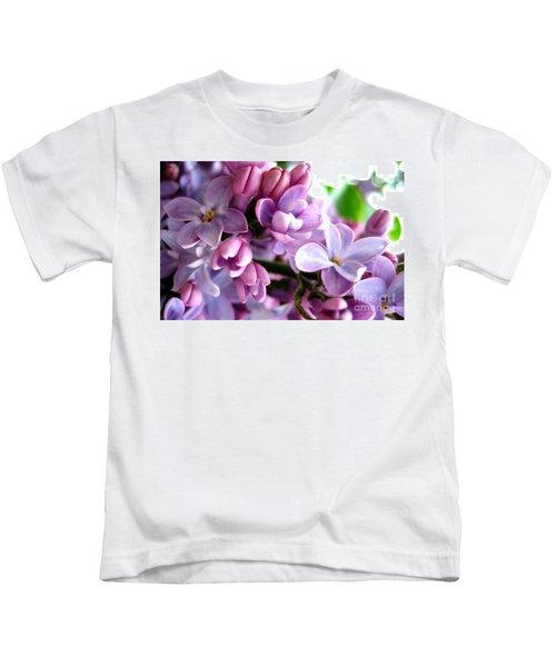 Lilacs Kids T-Shirt
