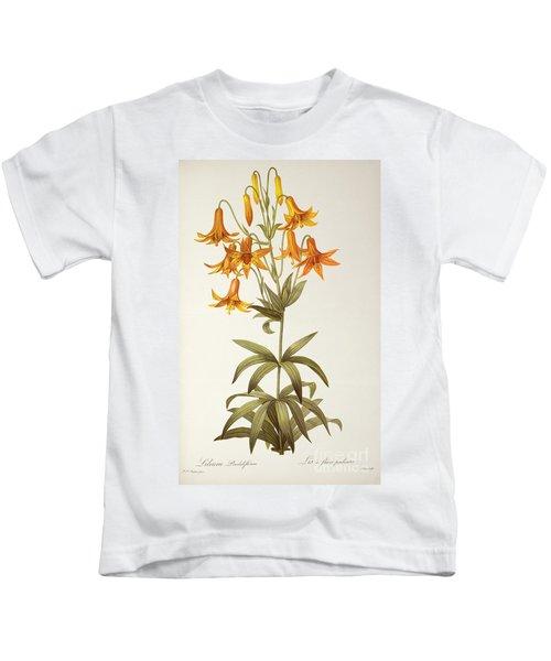 Lilium Penduliflorum Kids T-Shirt