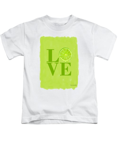 Lime Kids T-Shirt by Mark Rogan