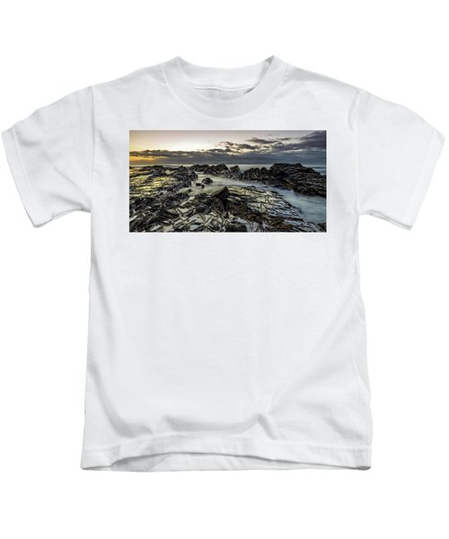 Lines Of Time Kids T-Shirt