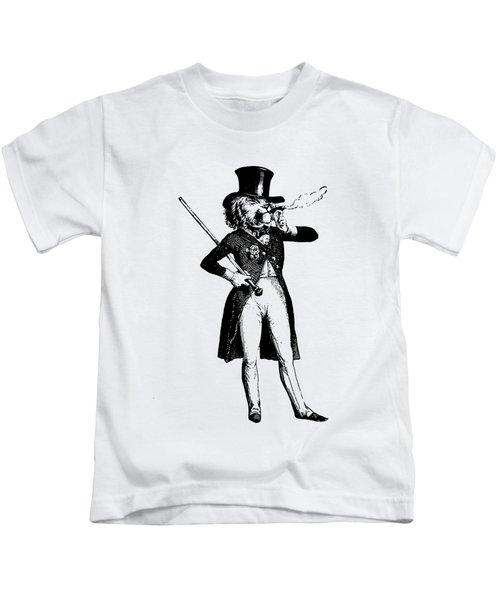 Lion King Grandville Transparent Background Kids T-Shirt